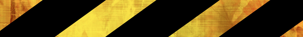 Black and yellow safety tape